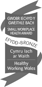 Healthy Working Wales - Small Workplace Health Award - Bronze